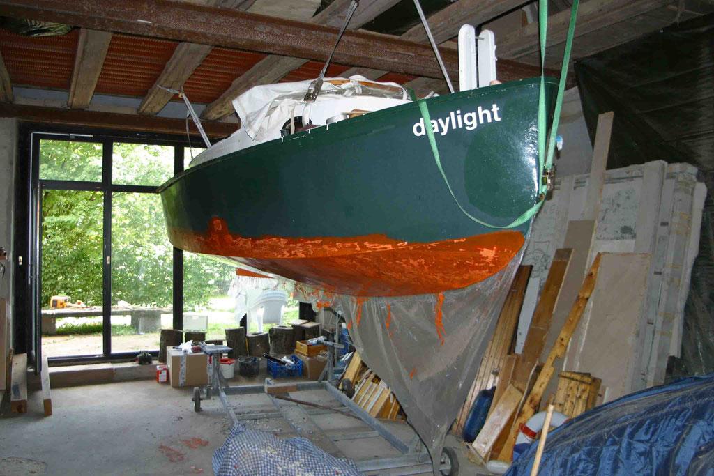 """Als """"Daylight"""" wurde der spätere """"Eisenhans"""" aus Italien nach Norddeutschland gebracht."""