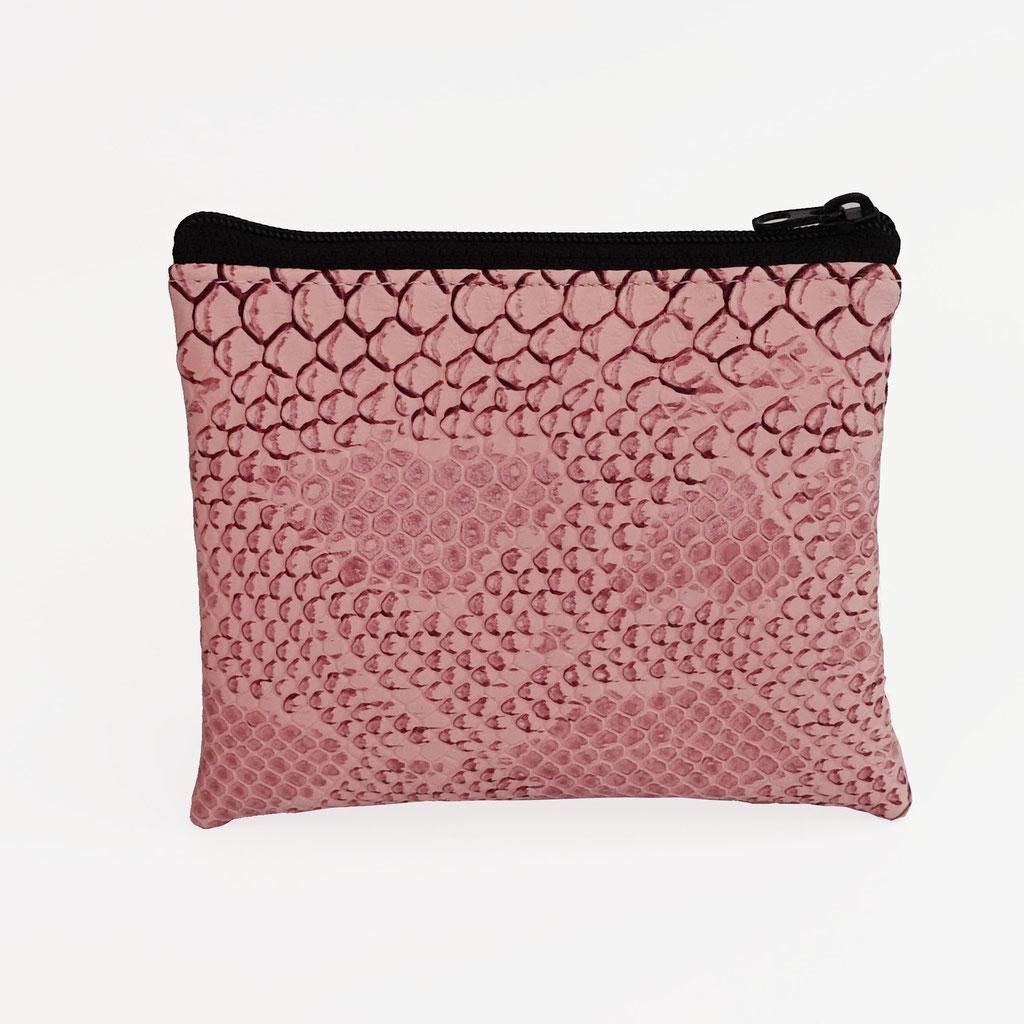 Porte-monnaie dragon rose