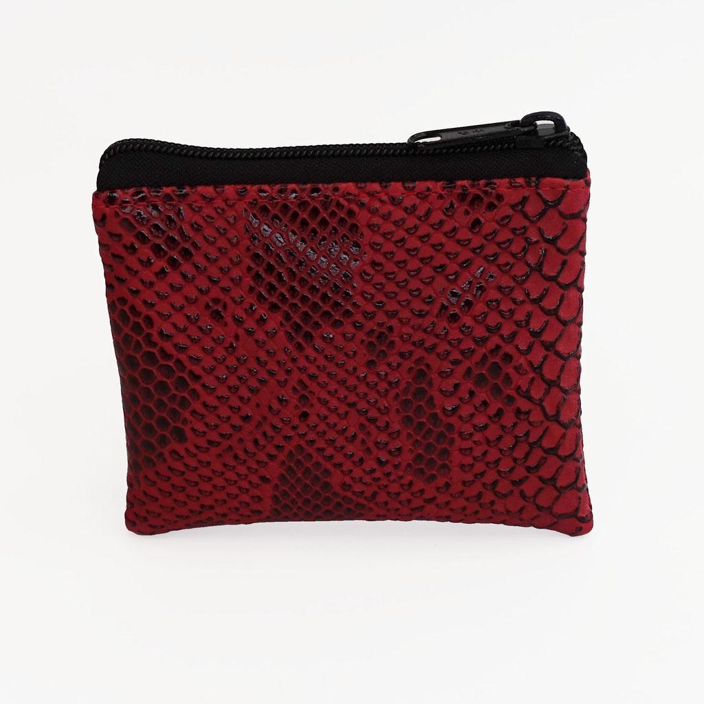 Porte-monnaie dragon rouge