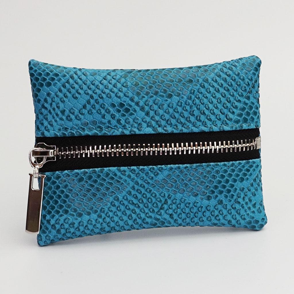 Porte-monnaie dragon turquoise