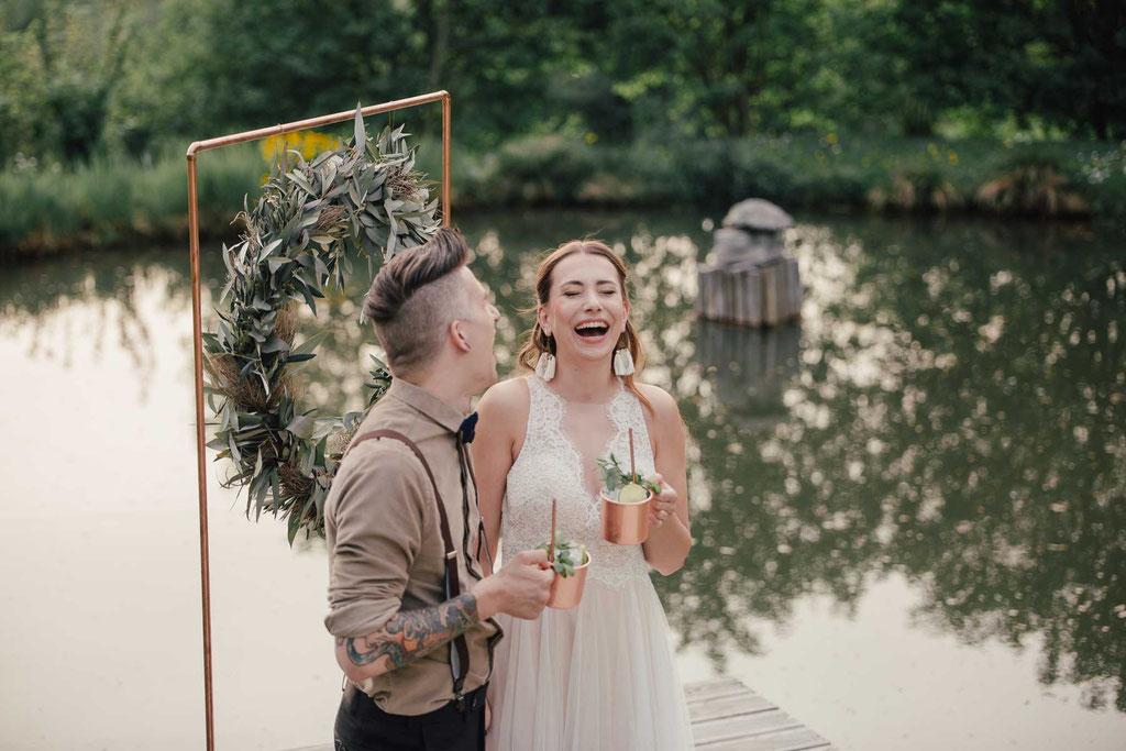 Boho Brautkleid von Watters