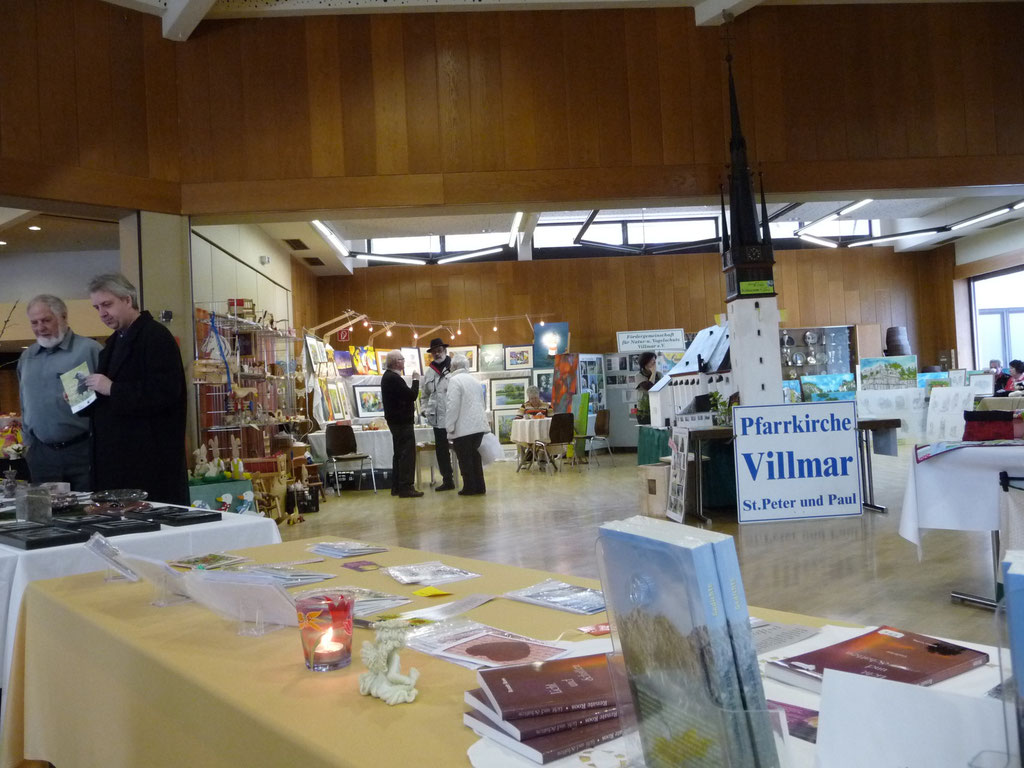 Hobby-Künstler-Ausstellung in Villmar 2013 (Foto © Renate Fachinger)