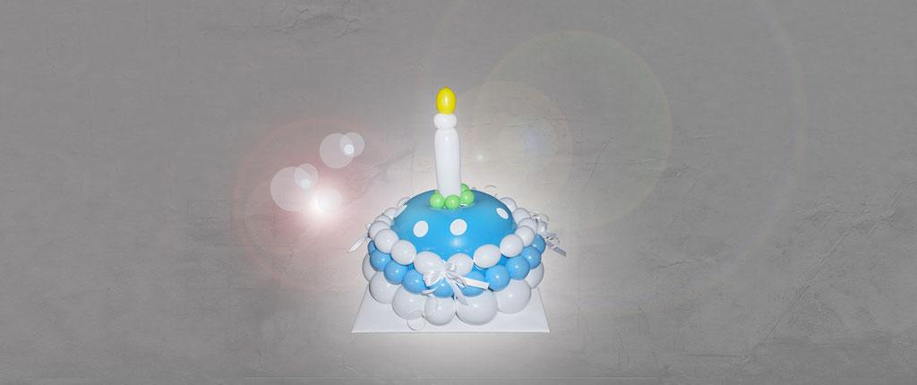 außergewöhnliche Ballon-Geschenke Geburtstag Dekoration Deko Luftballon Heliumballon