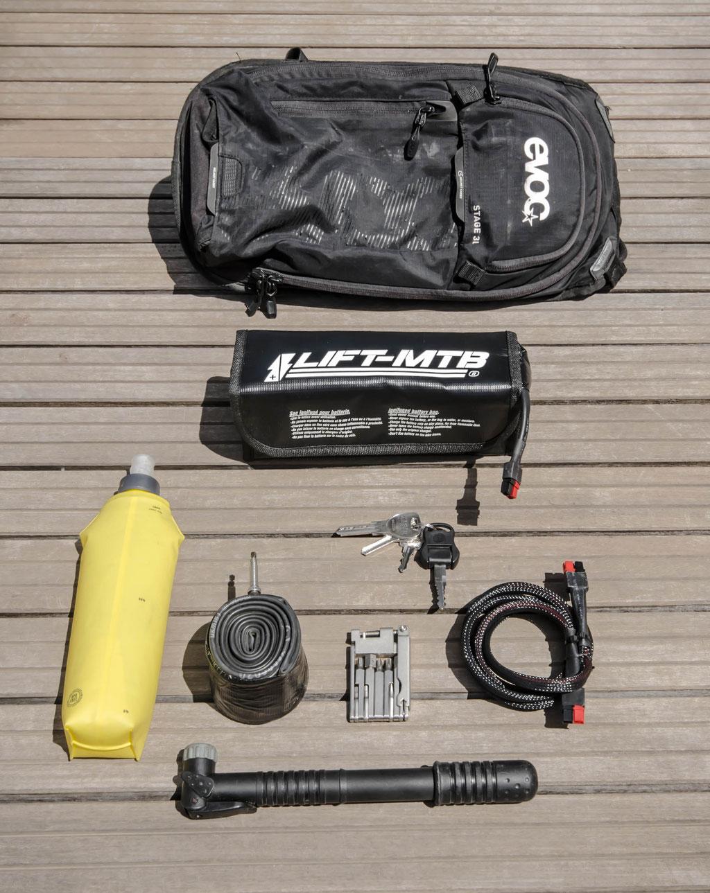 3 liter small battery bag