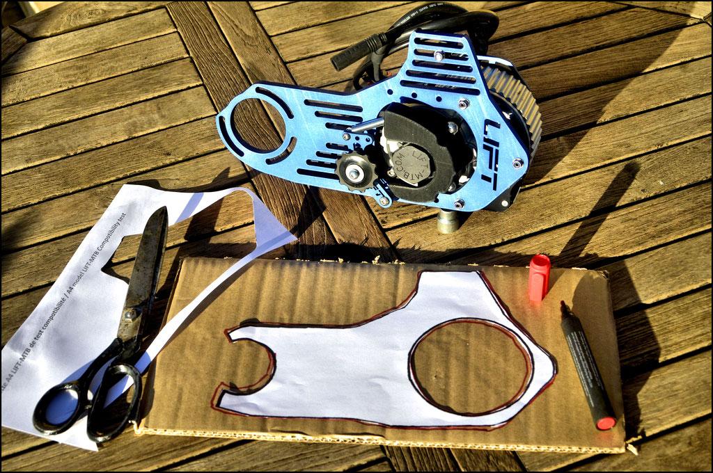 Leistungsstärkeres E-Bike MTB-Motorkit bosch