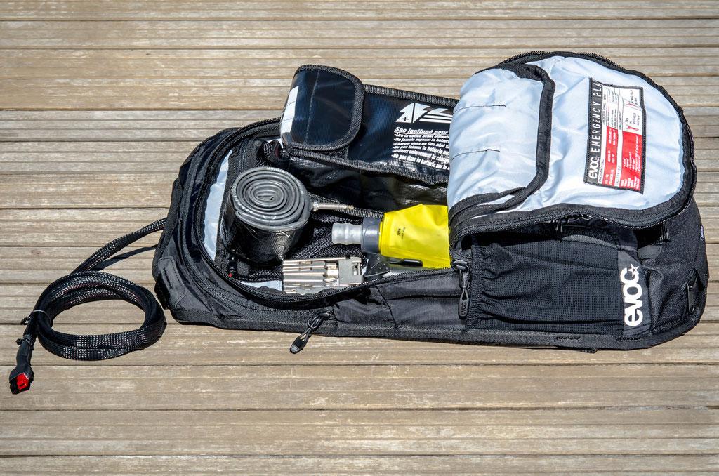 12l large flat battery bag