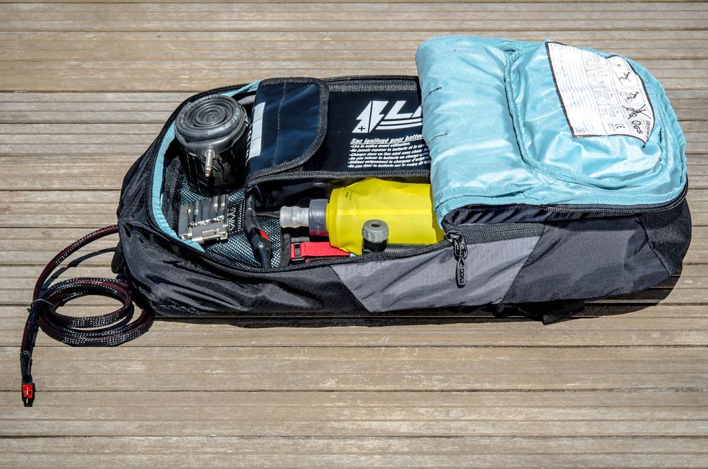 10l large flat battery bag