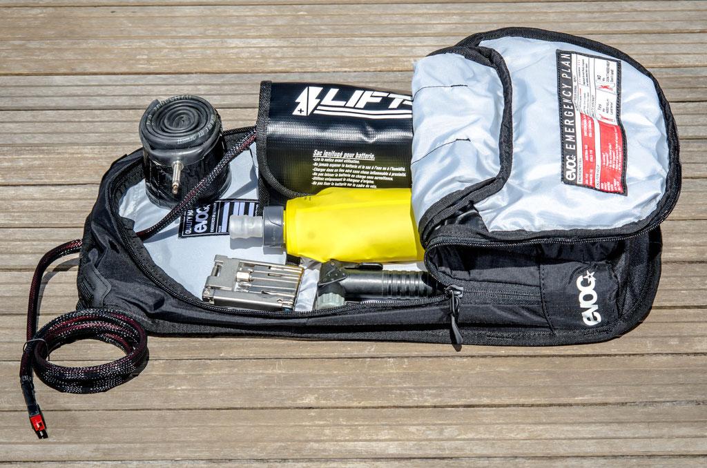sac 6l batterie petit format carré