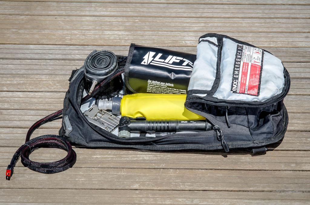 sac 3l batterie petit format carré