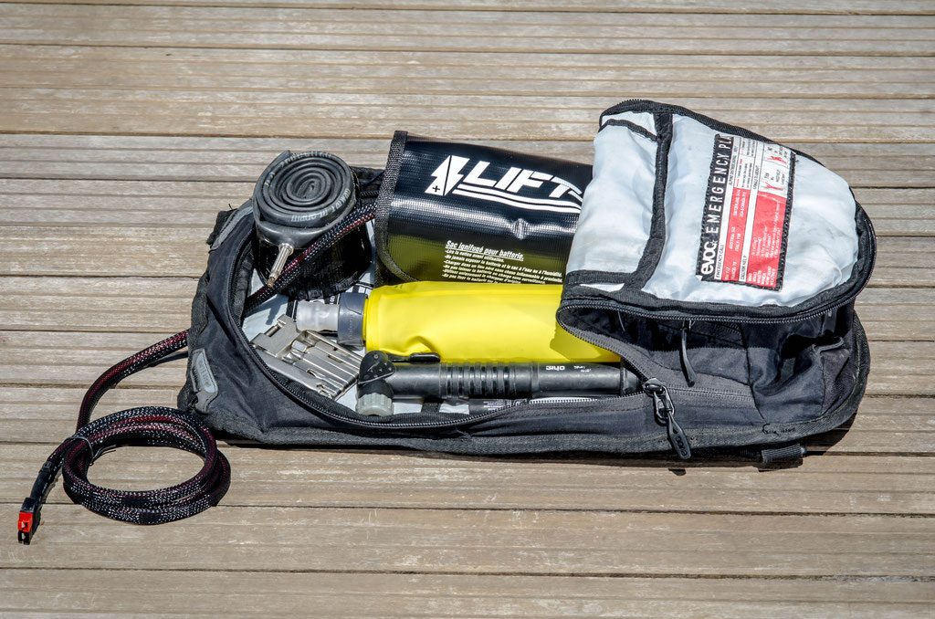3l battery bag small square format
