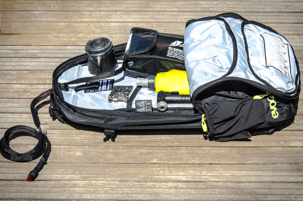 16l large flat battery bag