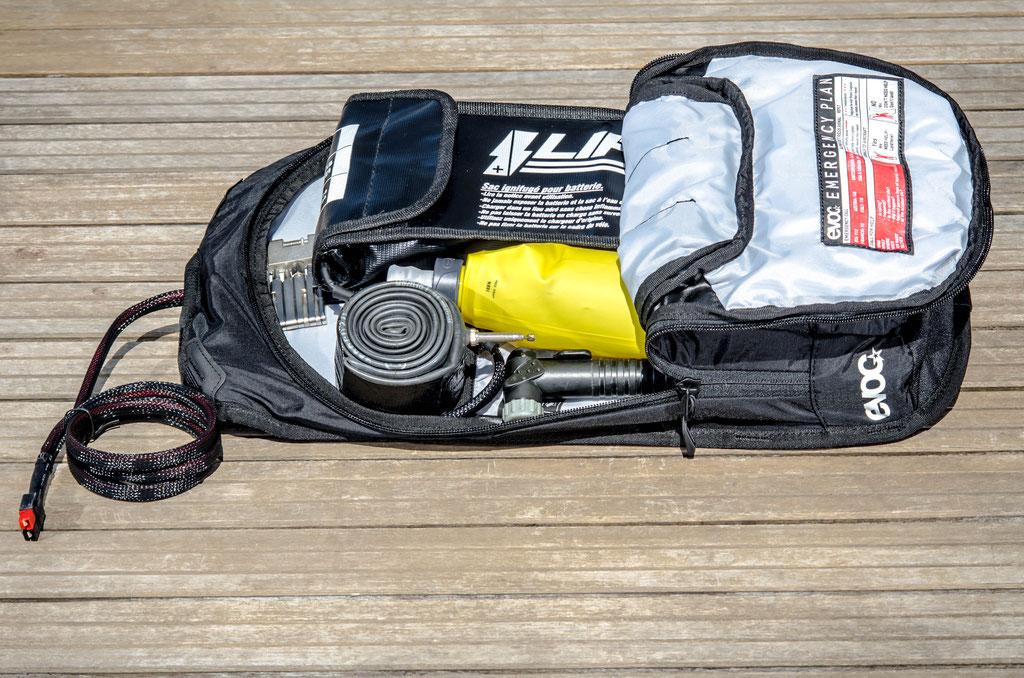6l large flat battery bag