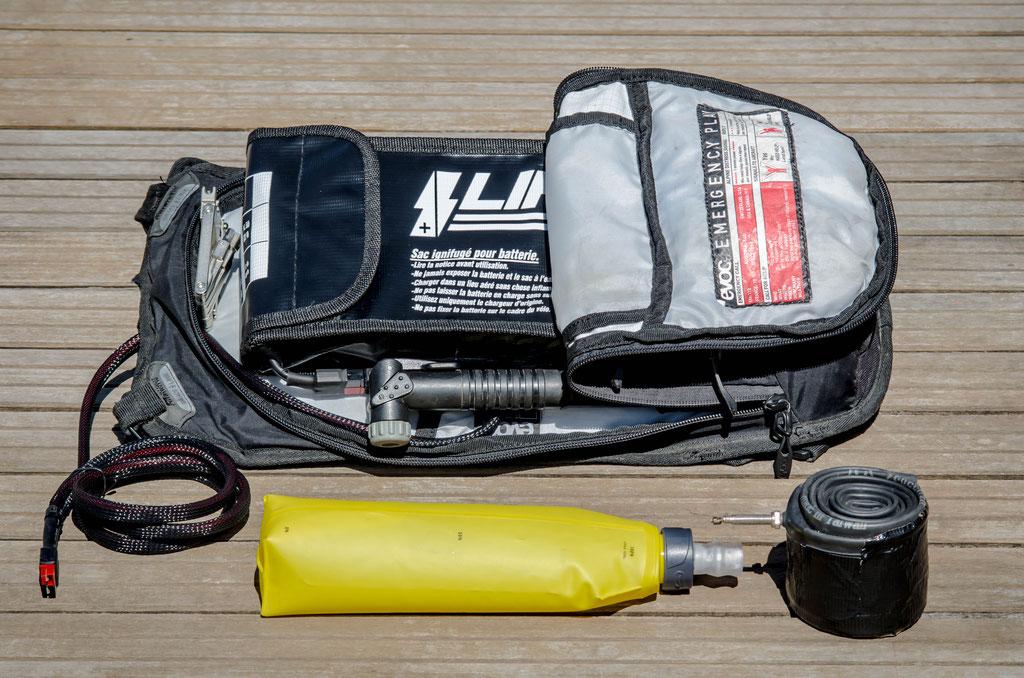 3l large flat battery bag