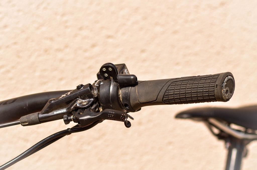 gâchette vélo électrique