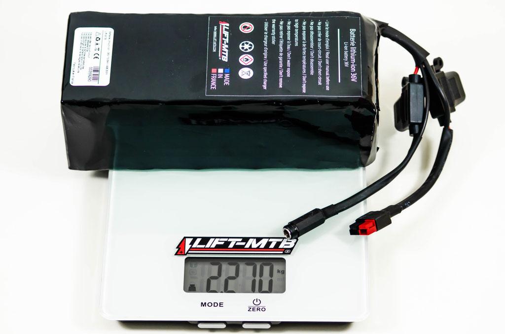 Batterie 14 Ah carrée pour VTTAE.