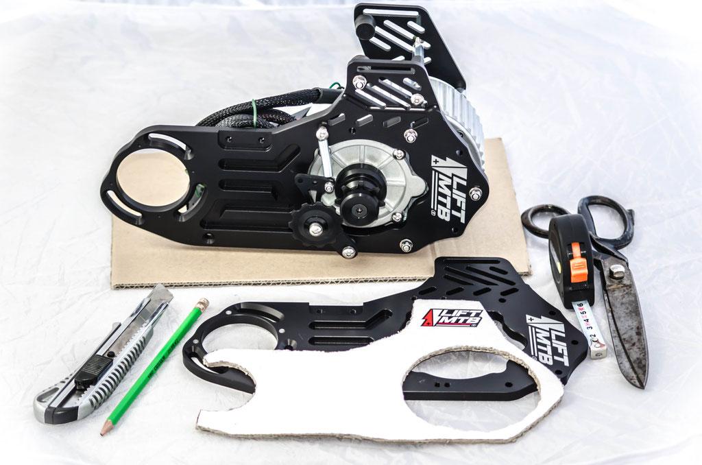 Vérifier la compatibilité de son vélo pour installer un kit moteur pédalier.