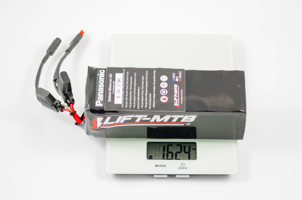 Batería de bicicleta de montaña eléctrica 8.7ah