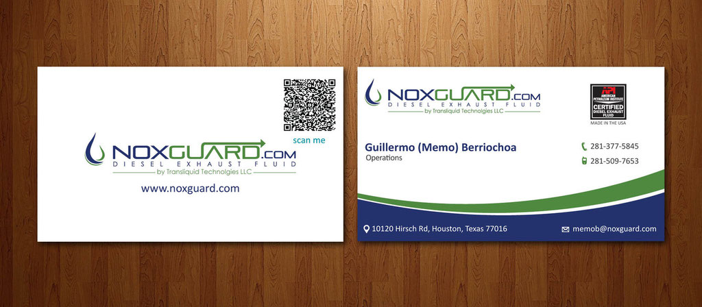 Noxguard Business card