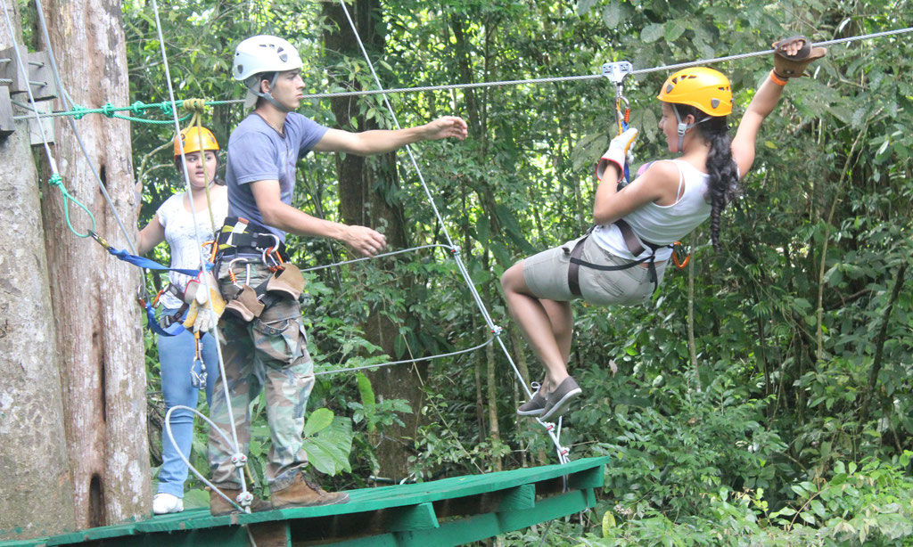 Arenal Canopy Tour & Hot Springs