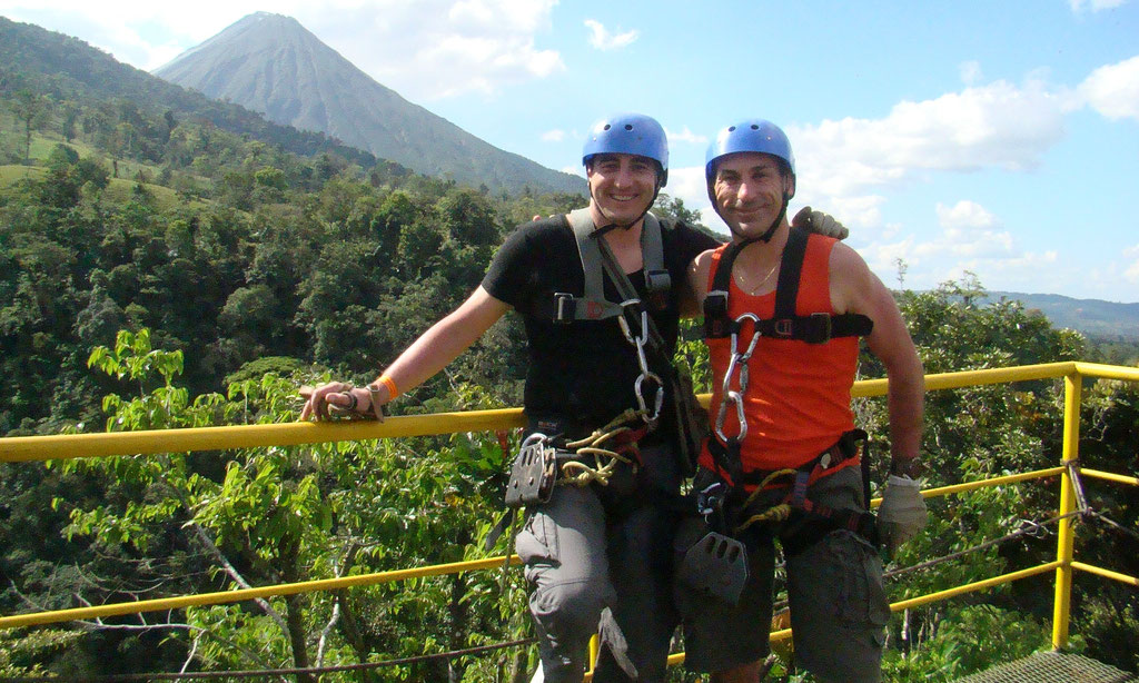 Arenal Combo Tour:  Canopy Tour & Rafting