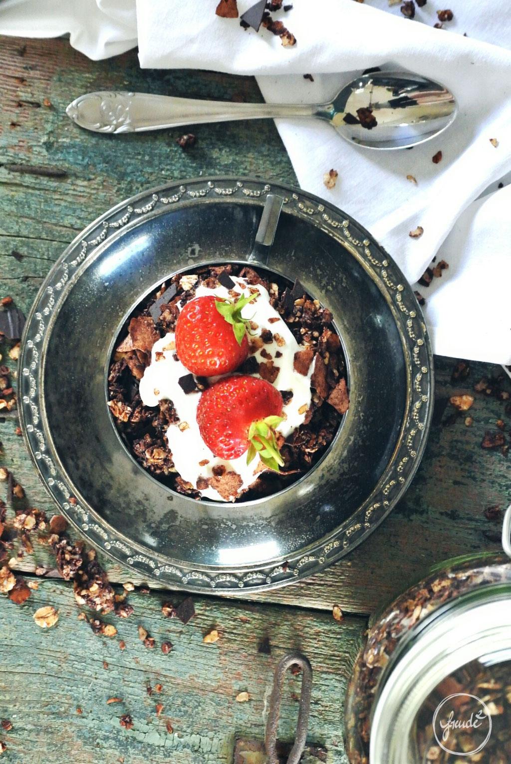 Schoko Kokos Knuspermüsli