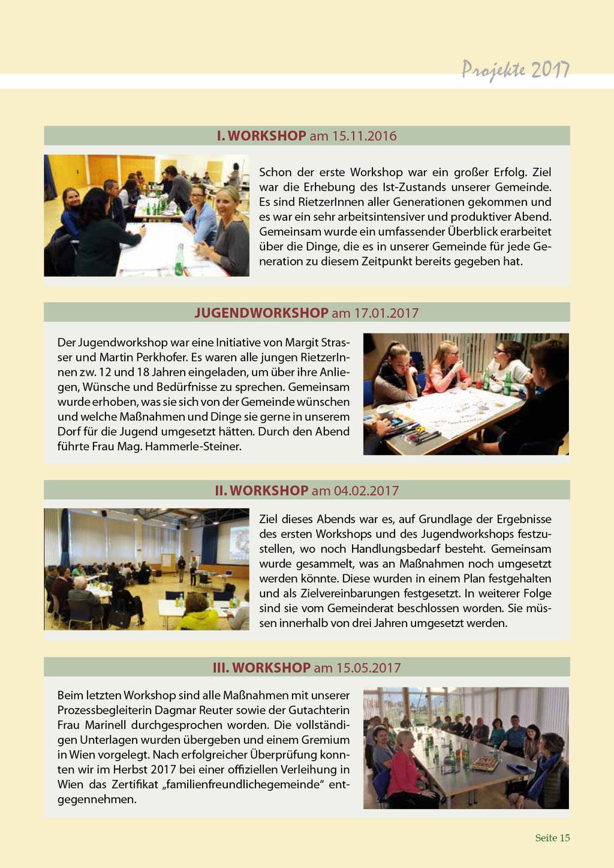 Bericht Gemeindezeitung 2017