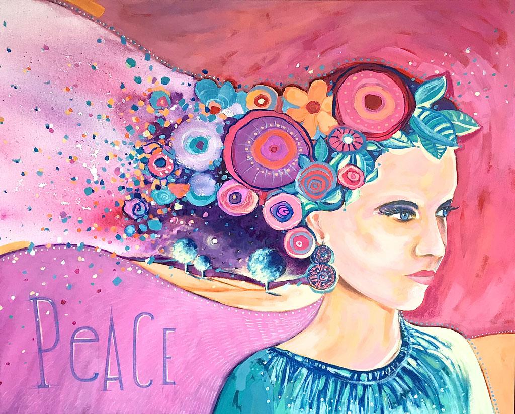 """PEACE"" - 100 cm x 81 cm"