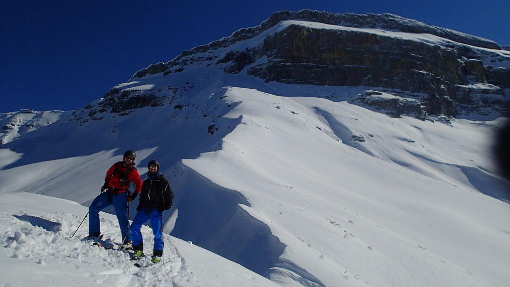 Gauthier et Antoine au sommet