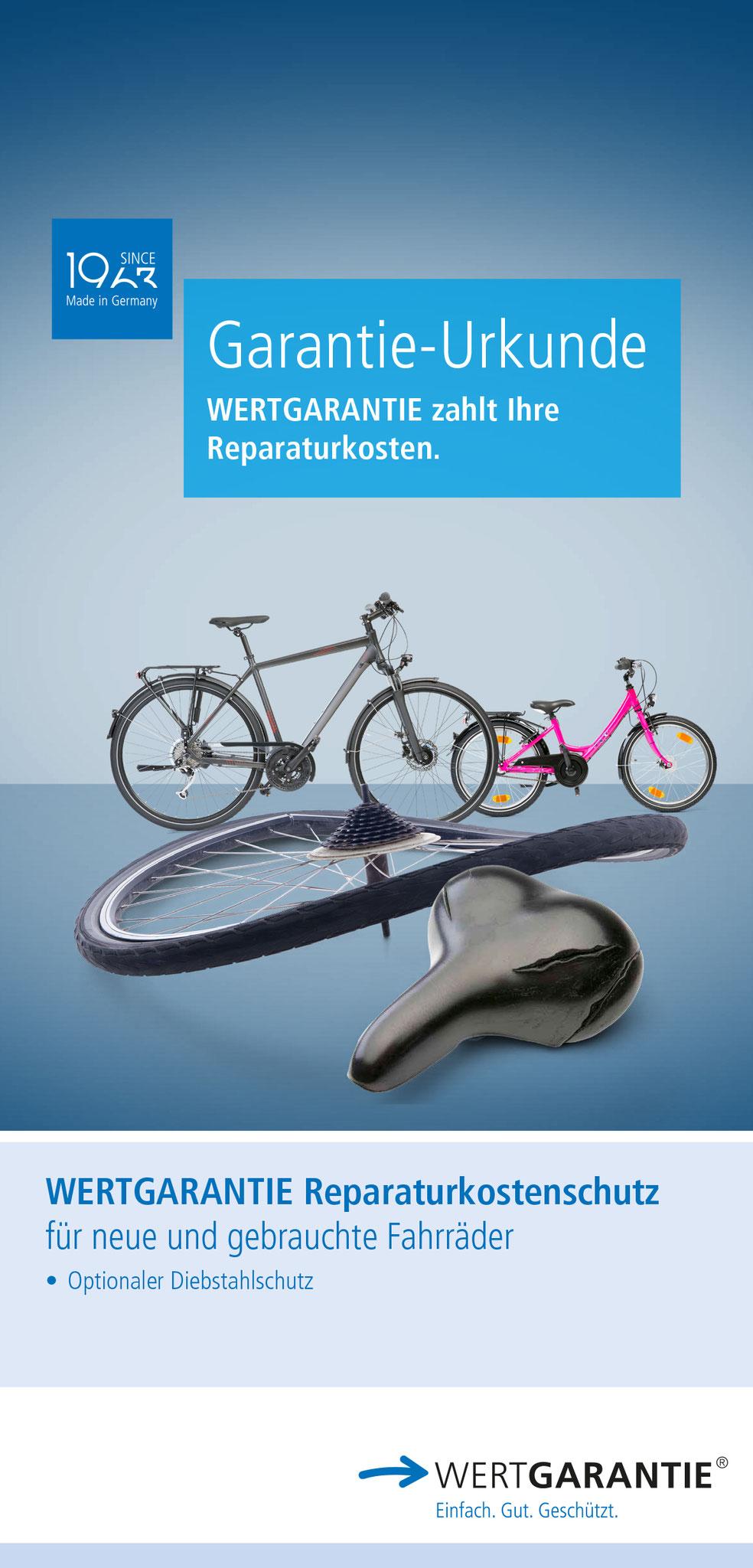Der Wertgarantie Reparaturkostenschutz.