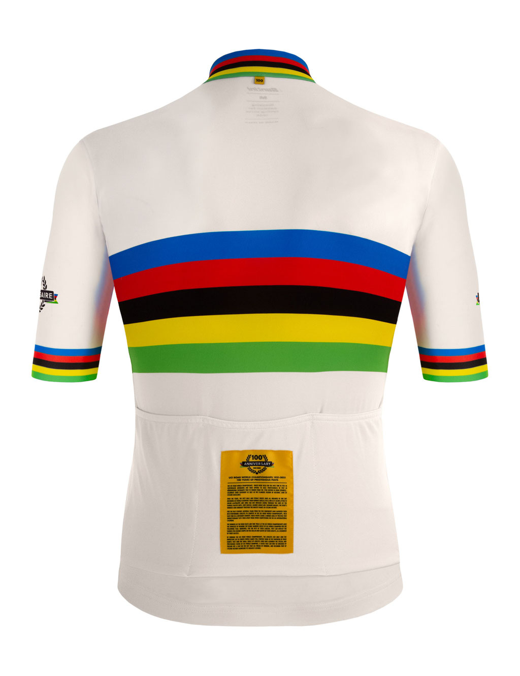 UCI-Weltmeistertrikot in Gold-Version