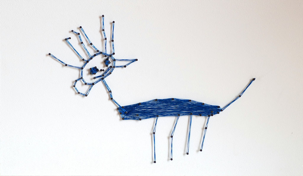 string art cat   -   not for sale