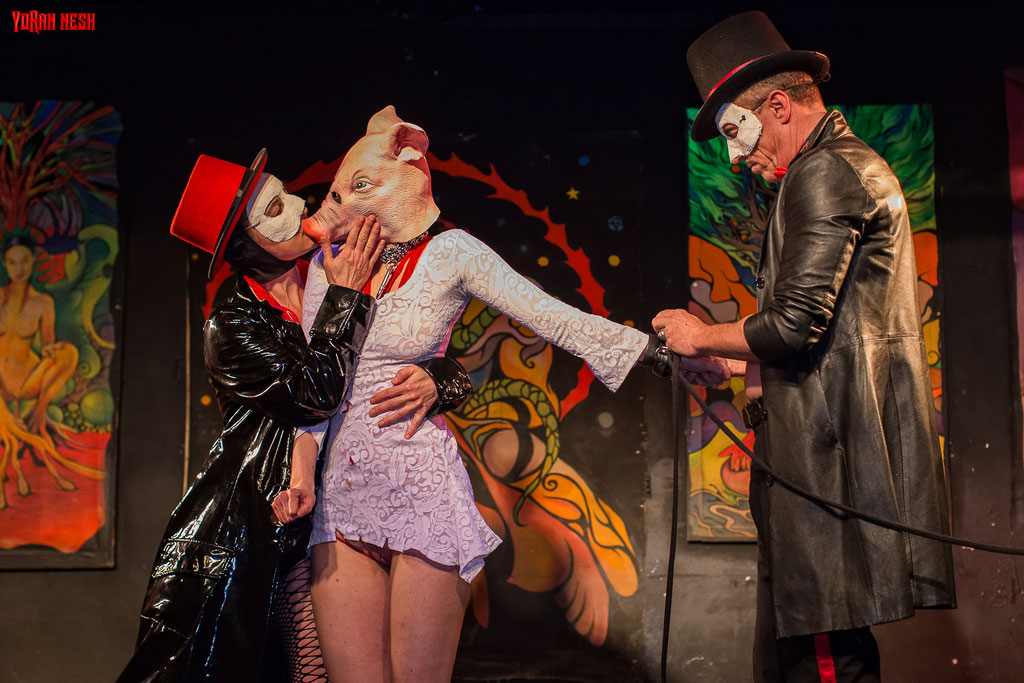 PIC`N`PORK - OPIUMs Excessive Art Theatre @ KitKat Club - by Mater Polonia, Mark Windsor, Trixie and FEXA - Fotos : YORAN NESH