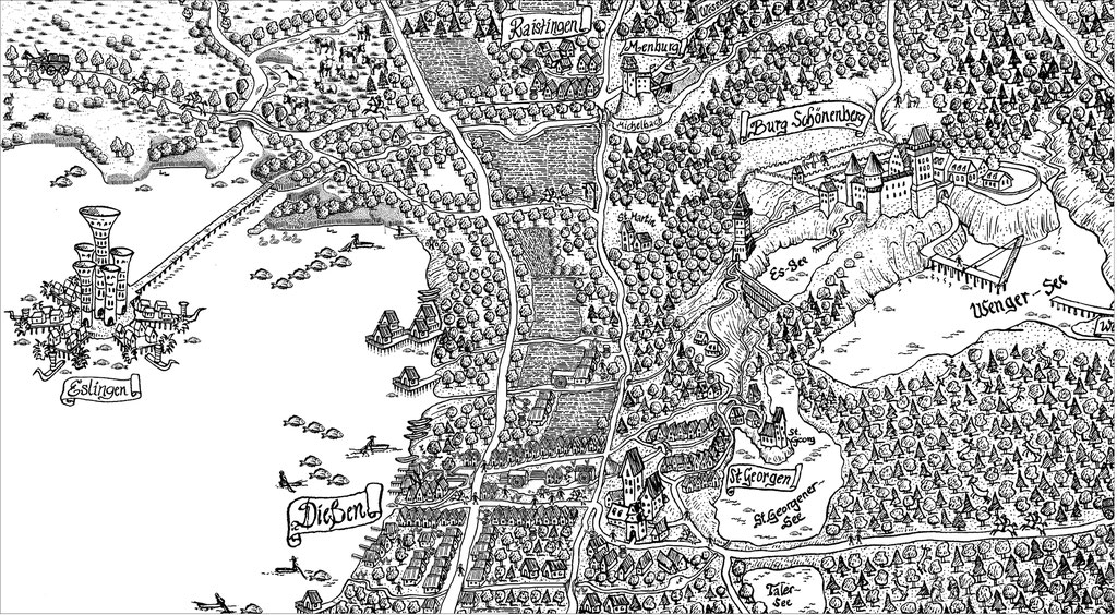 Ammersee – Dießen im Mittelalter