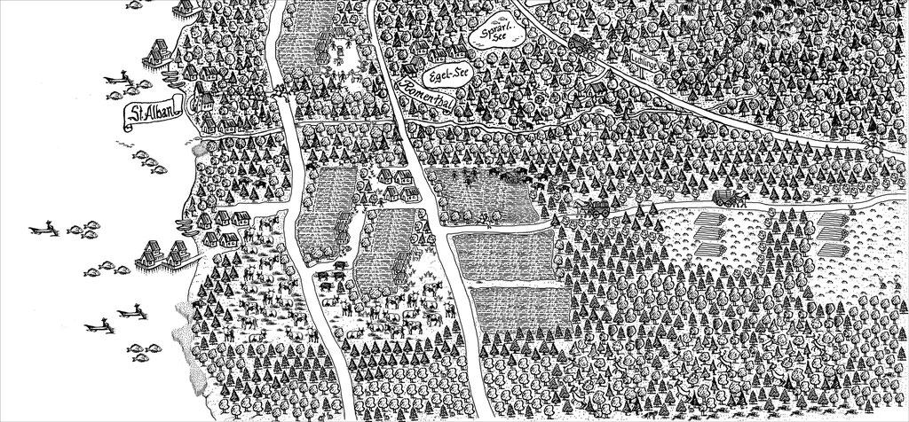 Ammersee – St. Alban im Mittelalter