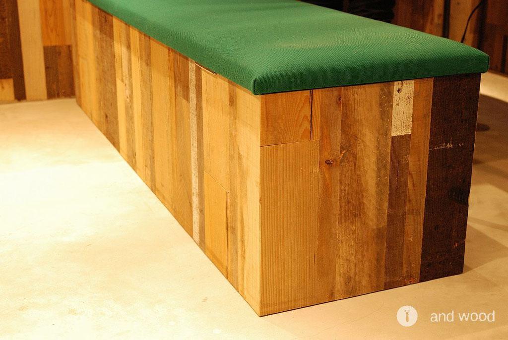 andwood アンドウッド ビンテージボード 無垢フローリング ウォールパネル 壁