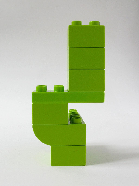 BRICK ART LIGHT GREEN - VUE 1