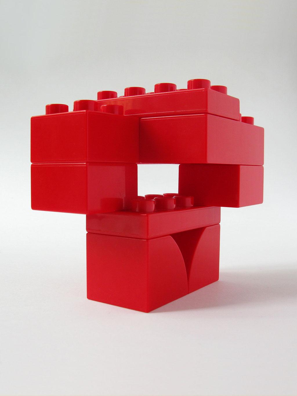 BRICK ART RED - VUE 2