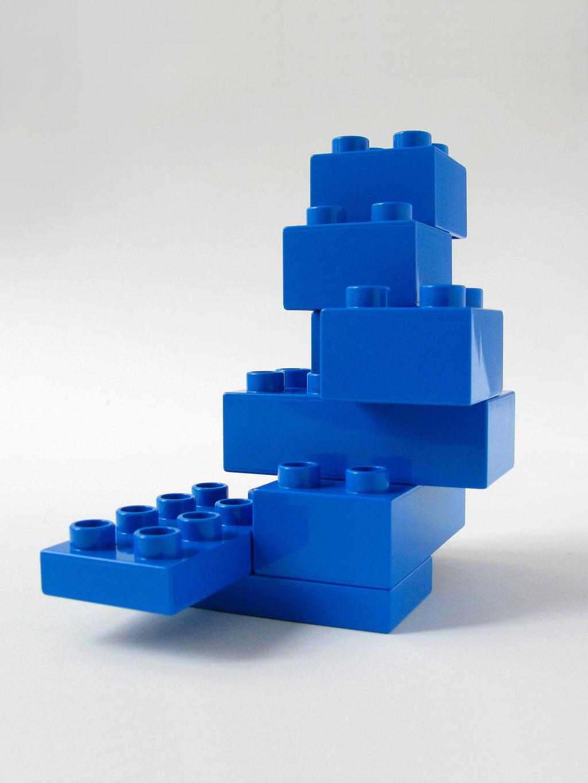 BRICK ART BLUE - VUE 1