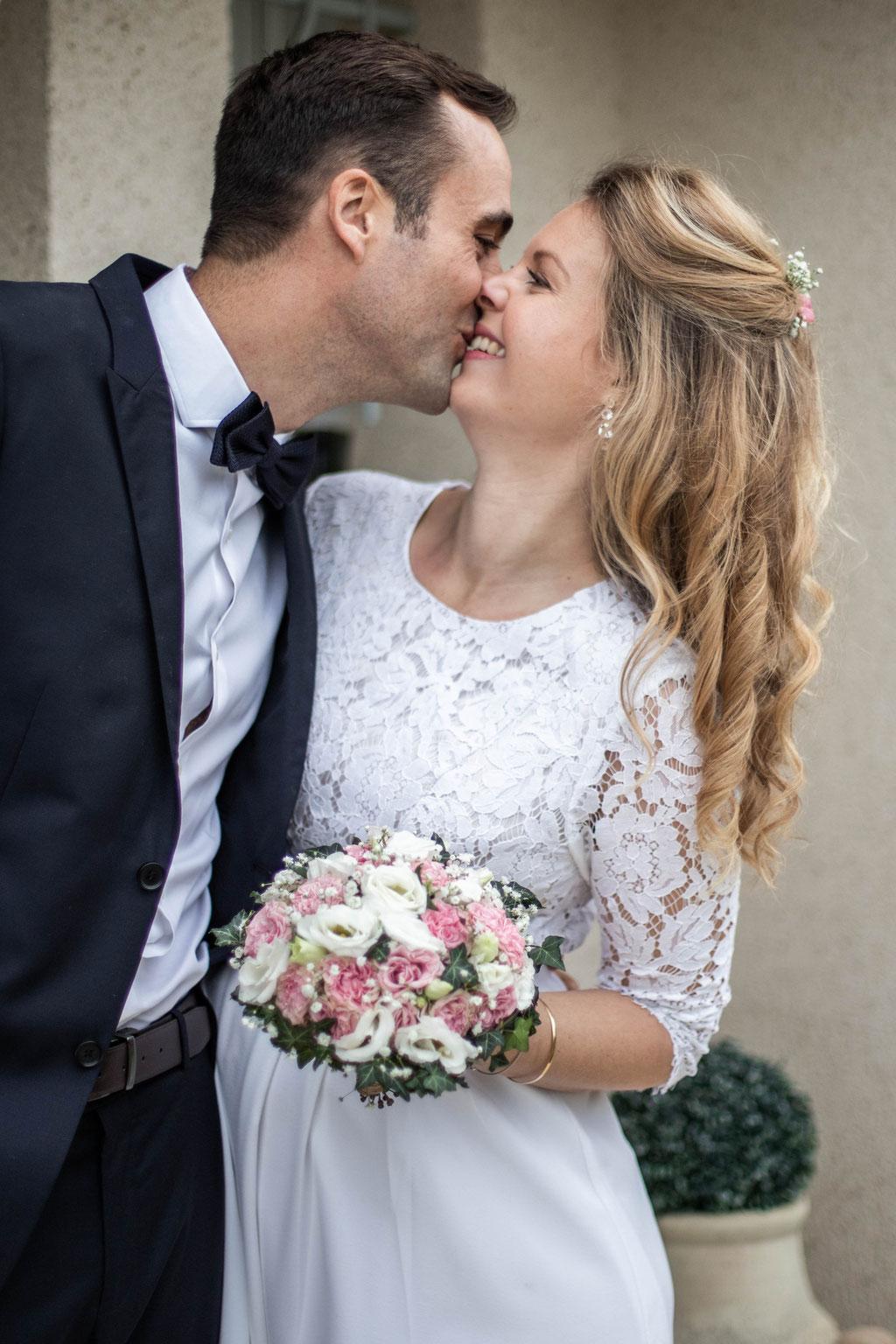 Delphine Grigné, photographe Sarthe, séance couple mariés