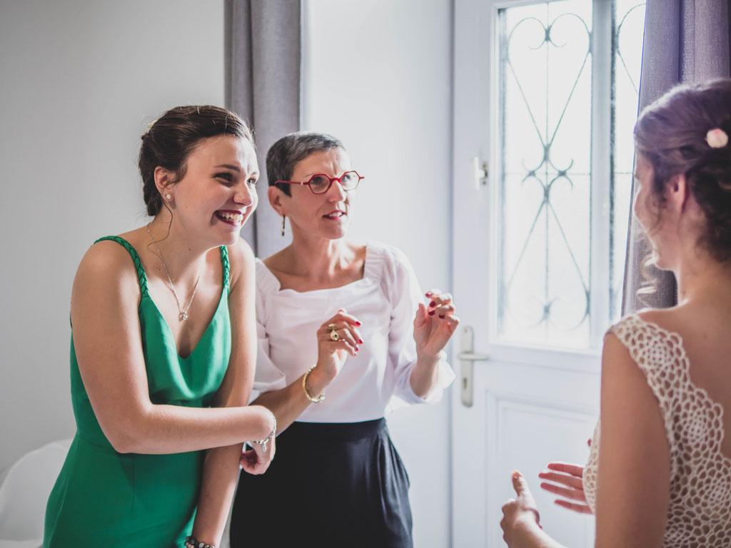 Delphine Grigné, photographe Sarthe, préparatifs mariée