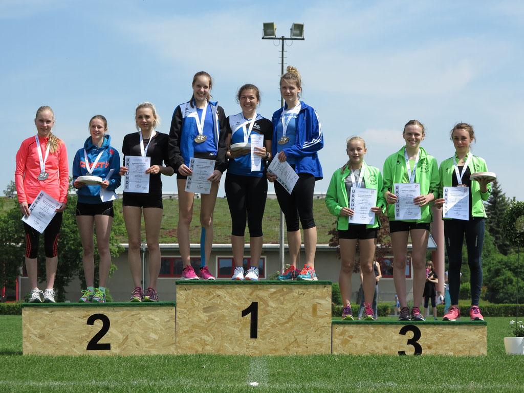 3. Platz - Bayr. Meisterschaft Langstaffel (3x800m) mit S.Schedler - M.Lory - M.Zeller