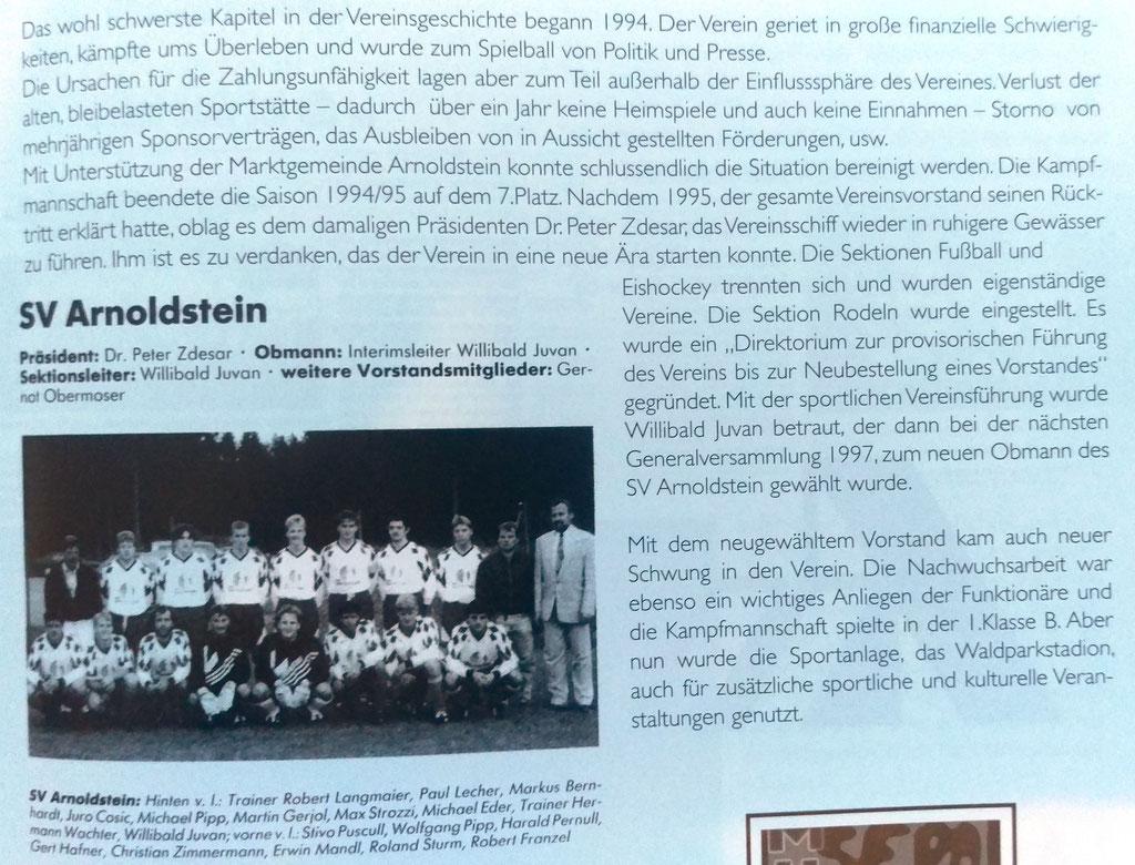 2. Mannschaft 2002