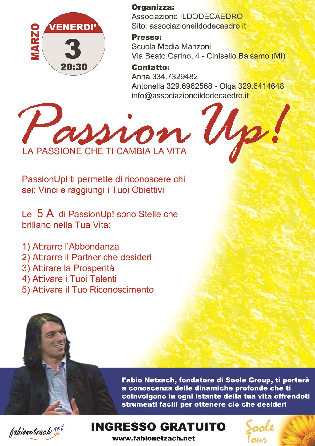 Fabio Netzach - Passion Up 3 Marzo 2017