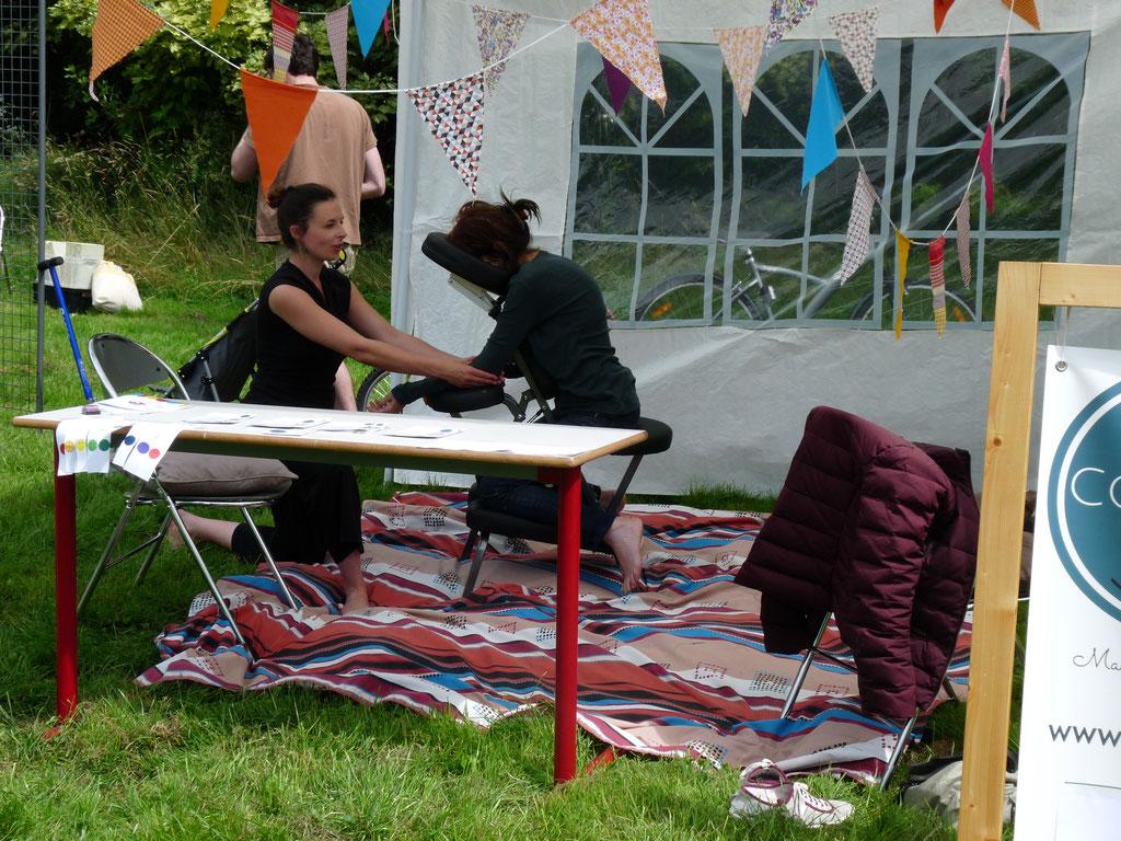 journée de l'optimisme jeune chambre économique rennes cocoon massage assis juin 2016