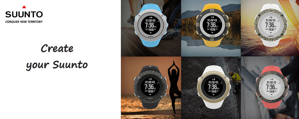 customise your suunto sport swatch - swatch personalization