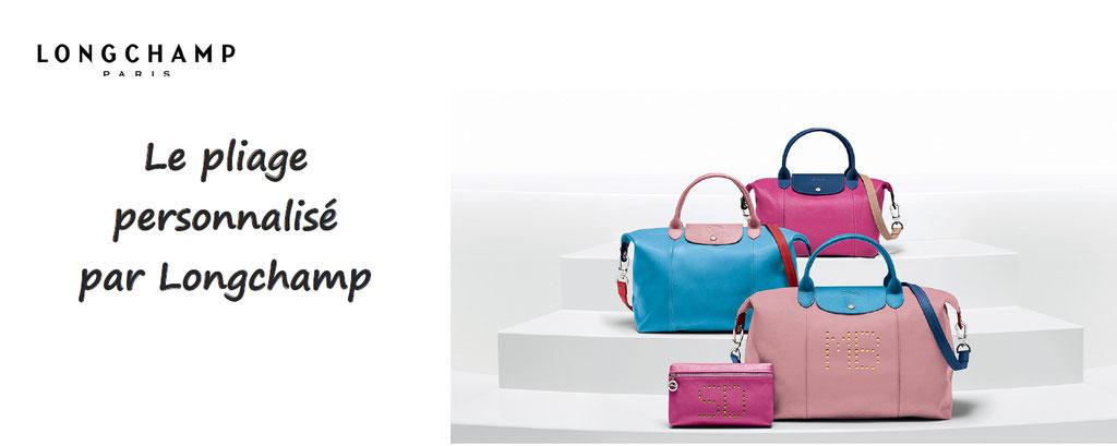 Personnalisation de sac Longchamp le Pliage : choix du format, couleurs, marquage, ce pliage sera le votre