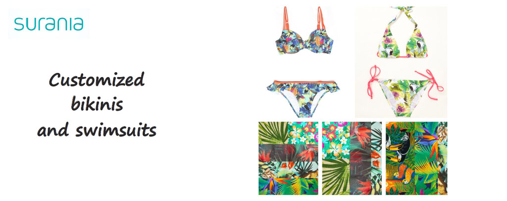 surania, customize your binikis and swimsuits, bikini customization, swimsuits for men women children custom