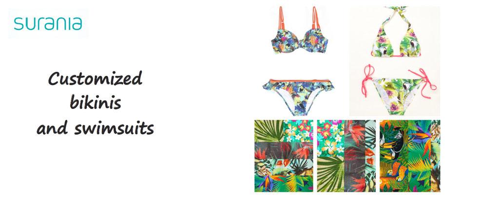 surania, customize your binikis and swimsuits, bikini customization, swimsuits for men women children custom