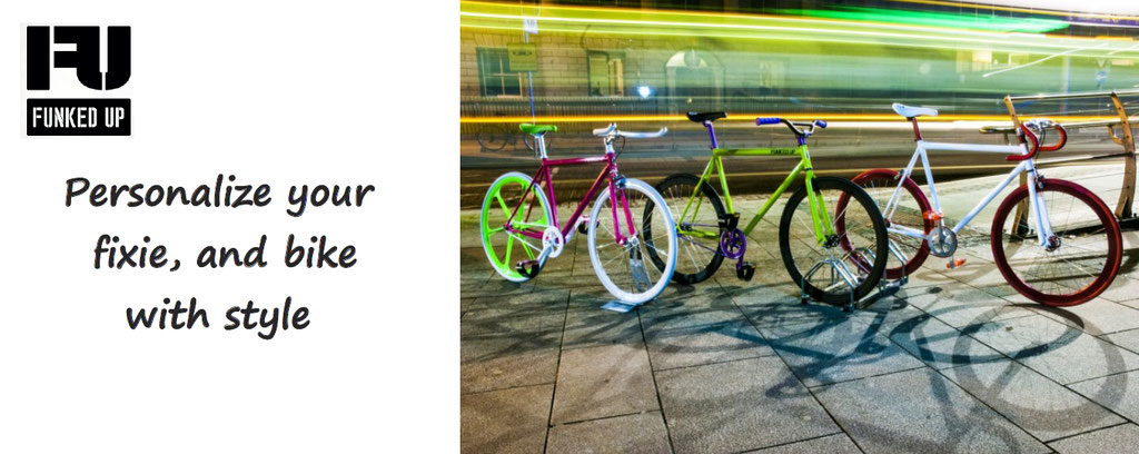 personalize your fixie - customize your fixie - bike customization - bike personalization