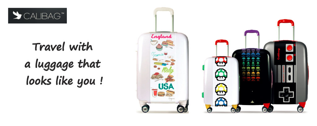 personalize your luggage - customise your luggage - customize your luggage - luggage personalized
